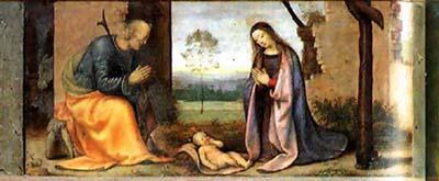 Naissance de Jésus – Albertinelli